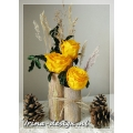 Rustieke bloemstuk